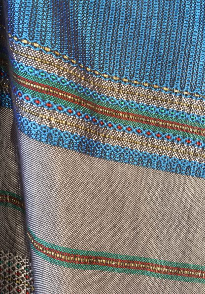 Rowan - Men's Handmade Woven Silk Tallit-55