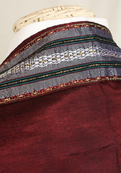 Keith - Men's Handmade Woven Silk Tallit-51