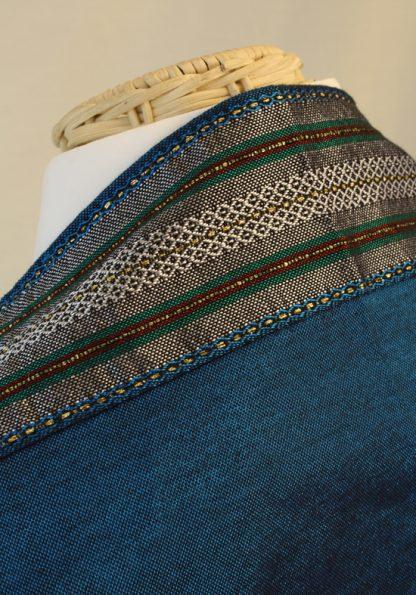 Rowan - Men's Handmade Woven Silk Tallit-56