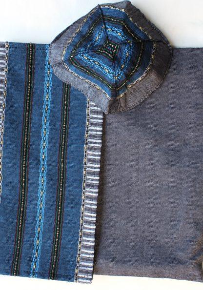 Rowan - Men's Handmade Woven Silk Tallit-58
