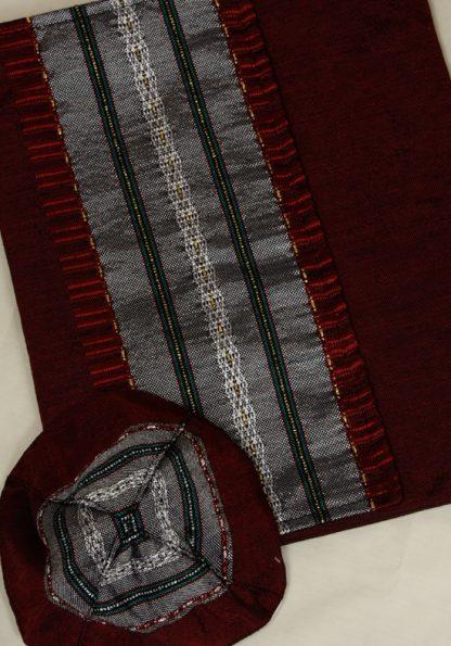 Keith - Men's Handmade Woven Silk Tallit-54