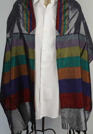 Barry -Men's Handmade Woven Silk Tallit-0