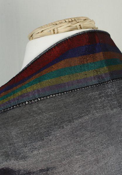 Barry -Men's Handmade Woven Silk Tallit-65