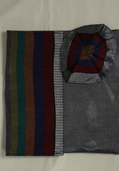 Barry -Men's Handmade Woven Silk Tallit-64