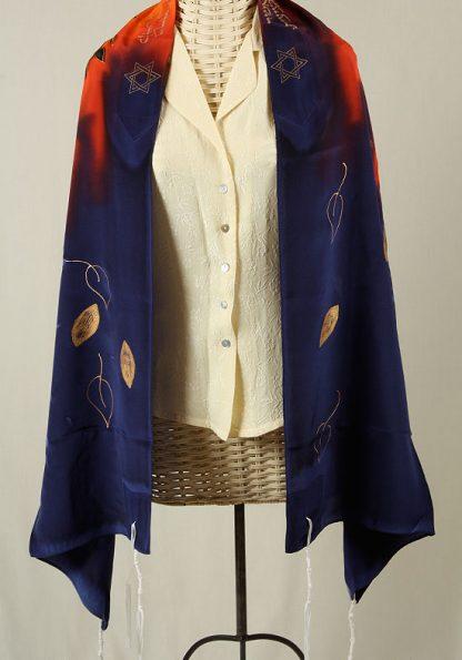 Einat - Women's Handmade Silk Talliit-0