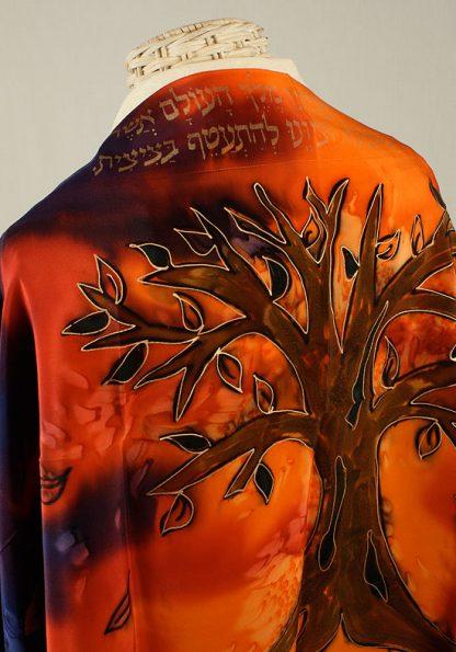 Einat - Women's Handmade Silk Talliit-98