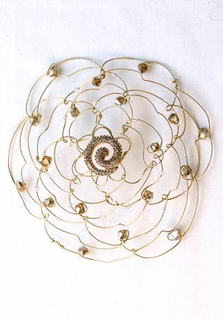 Gold Crystal Swirl-0