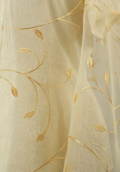 Maya - Women's Handmade Sheer Organza Tallit-2095