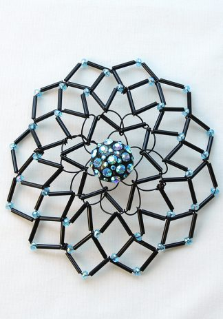 Black & Blue Crystal-0