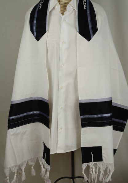 Brady - Men's Handmade Wool Tallit-0