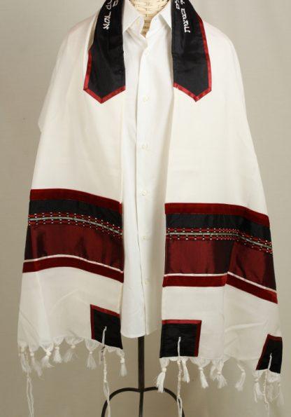 Chase - Men's Handmade Wool Tallit-0