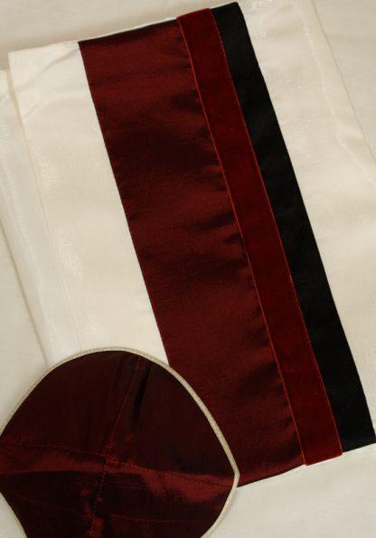 Chase - Men's Handmade Wool Tallit-573