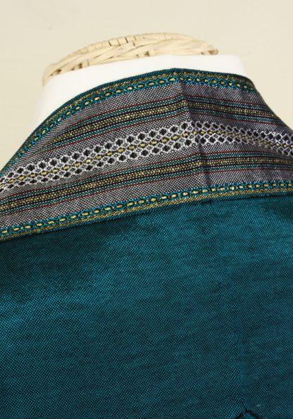 Clint - Men's Handmade Woven Silk Tallit-405