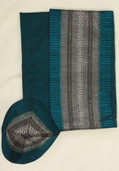 Clint - Men's Handmade Woven Silk Tallit-403