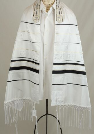 Colin - Men's Traditional Rayon Tallit-0