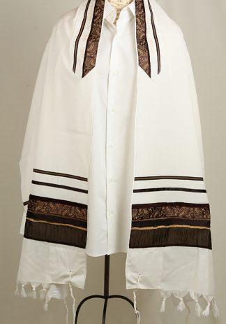 Eli - Men's Handmade Wool Tallit-0