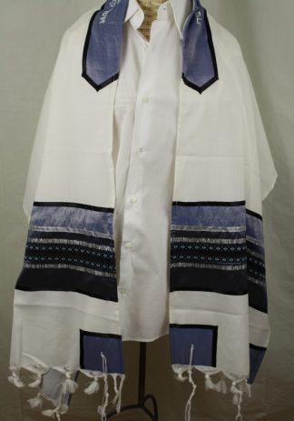 Ernest - Men's Handmade Wool Tallit-0