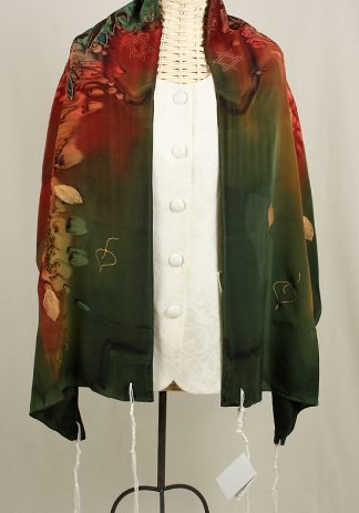 Jaden - Women's Handmade Silk Tallit-0
