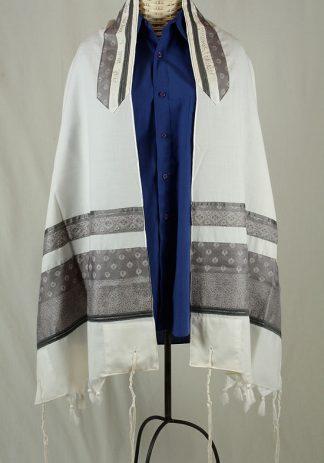 Noah - Men's Handmade Wool Tallit-0