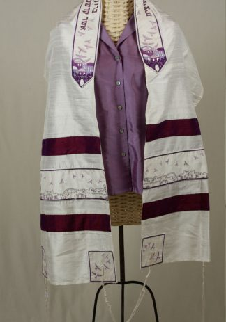 Renee - Women's Handmade Silk Tallit-0