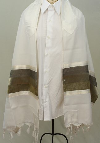 William - Men's Handmade Wool Tallit-0