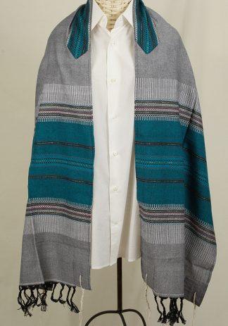 Zubin - Men's Handmade Woven Cotton Tallit-0