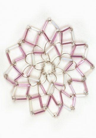 Shiny Pink & White-0