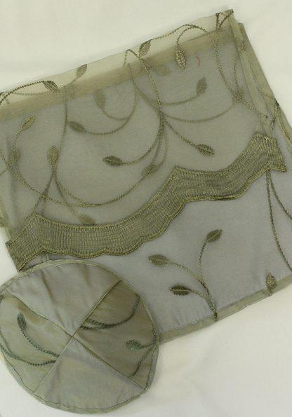 Adora - Women's Handmade Sheer Organza Tallit-971