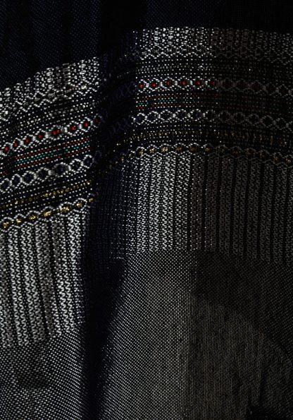 Aidan - Men's Handmade Woven Silk Tallit-341