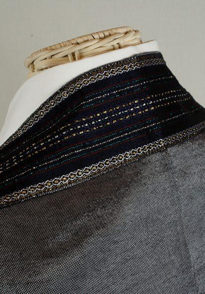 Aidan - Men's Handmade Woven Silk Tallit-338