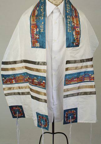 Althea - Women's Handmade Silk Tallit-0