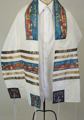 Althea - Women's Handmade Silk Tallit-0