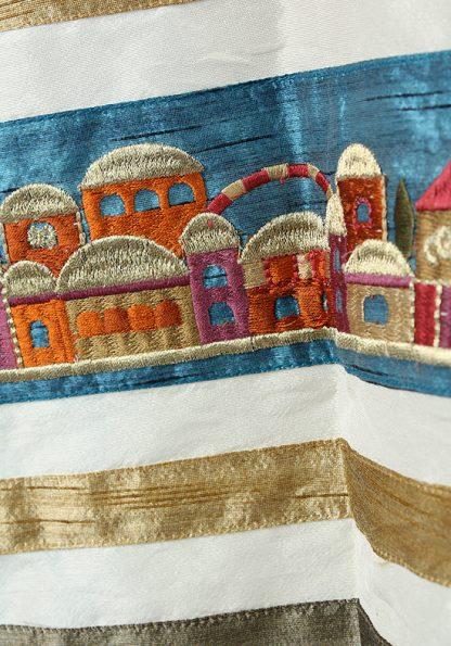 Althea - Women's Handmade Silk Tallit-448