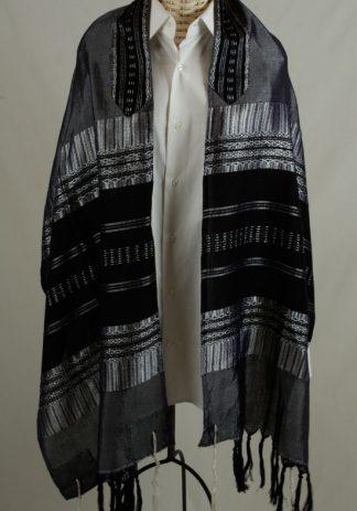 Amiel - Men's Handmade Woven Silk Tallit-0