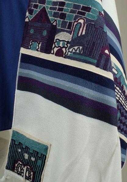 Blake - Men's Handmade Woven Cotton Tallit-679