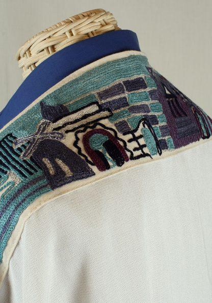 Blake - Men's Handmade Woven Cotton Tallit-681