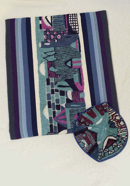 Blake - Men's Handmade Woven Cotton Tallit-680