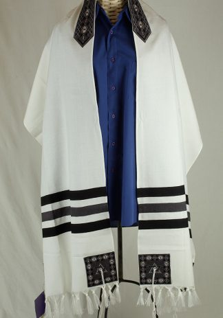 Brendon - Men's Handmade Viscose Tallit-0