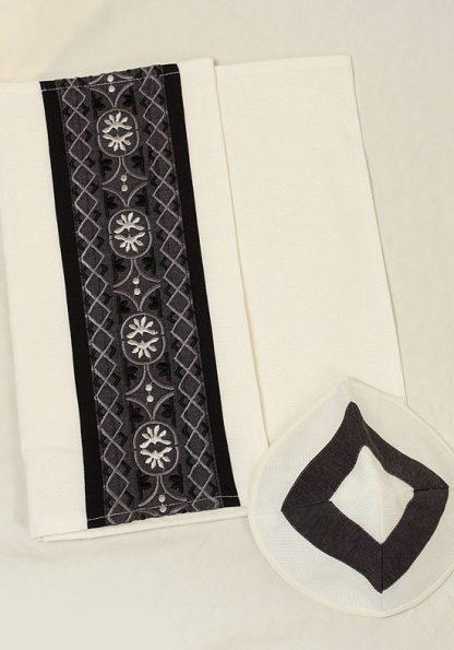 Brendon - Men's Handmade Viscose Tallit-604