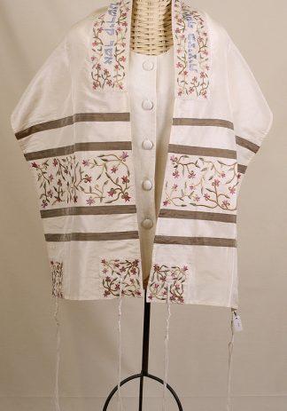 Brianna - Women's Handmade Silk Tallit-0
