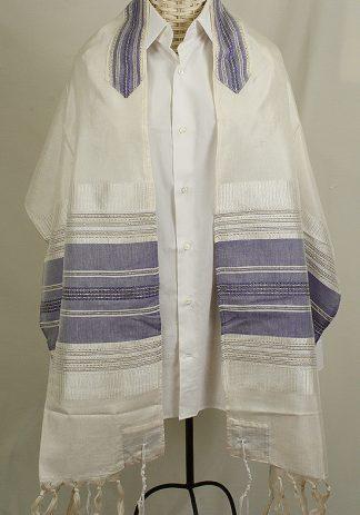 Buddy - Men's Handmade Woven Silk Tallit-0