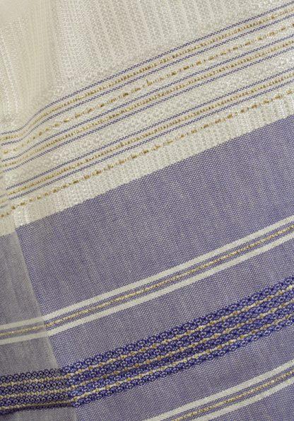 Buddy - Men's Handmade Woven Silk Tallit-298