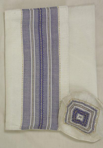 Buddy - Men's Handmade Woven Silk Tallit-301