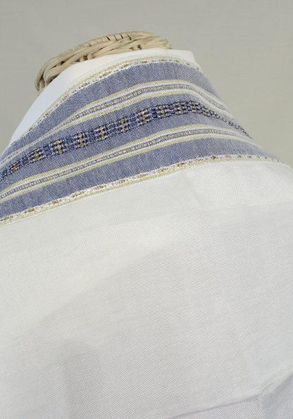 Caden - Men's Handmade Woven Silk Tallit -398