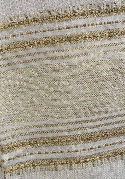Casey - Handmade Unisex Tallit, Woven Silk-820