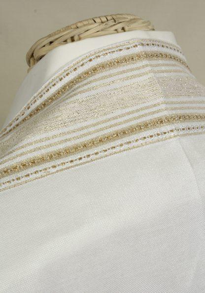 Casey - Handmade Unisex Tallit, Woven Silk-819