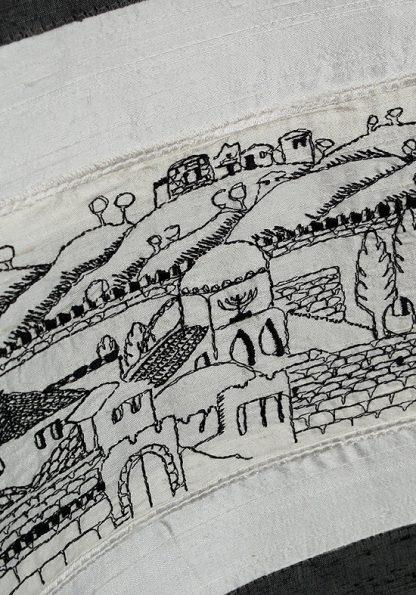 Cory - Unisex Handmade Silk Tallit-349