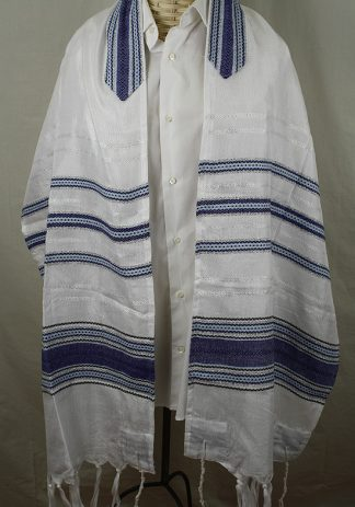 Dane - Men's Handmade Handwoven Silk Tallit-0