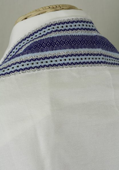 Dane - Men's Handmade Handwoven Silk Tallit-415