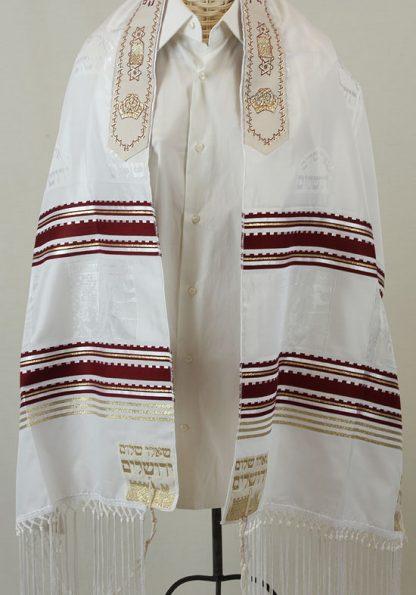 Gabe - Men's Traditional Rayon Tallit-0